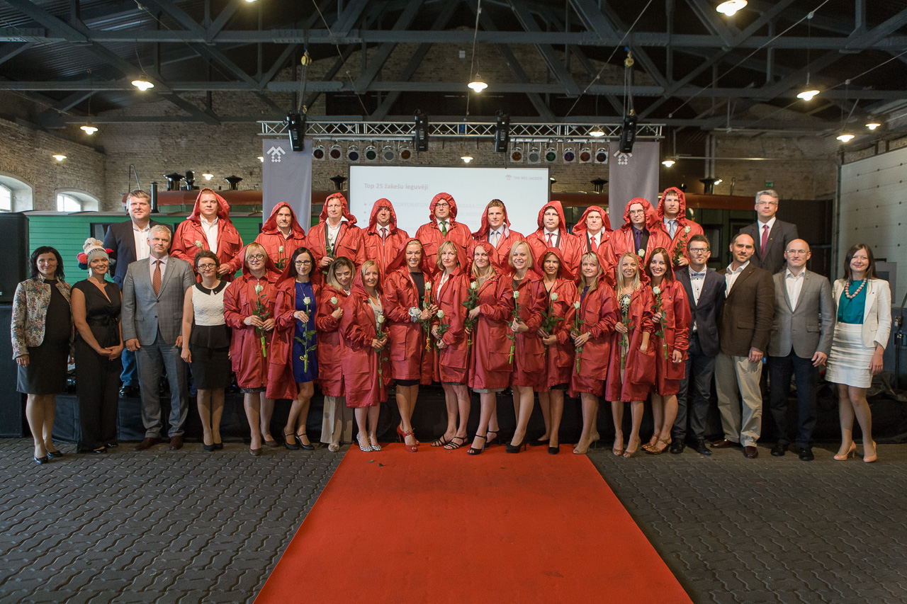 PAA becomes one of the 25 TOP exporters in Latvia and receives The Red Jackets title