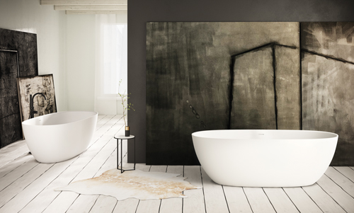 PAA freestanding bath BELLA 1700 x 800 mm romance and elegance in every way