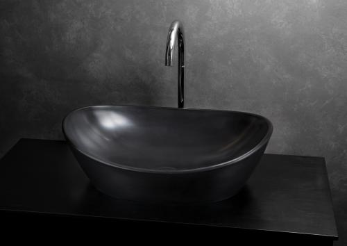 PAA washbasin AMORE in Graphite color simply the art